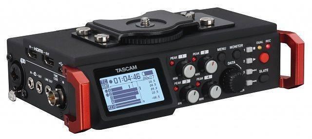 Grabadora Portatil Tascam DR-701D