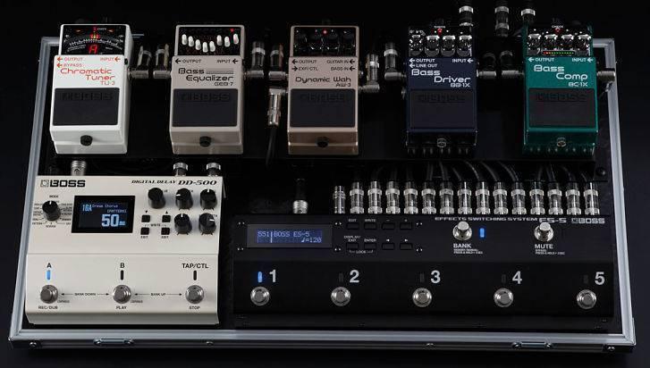 Sistema de cambio de efectos Roland ES-5