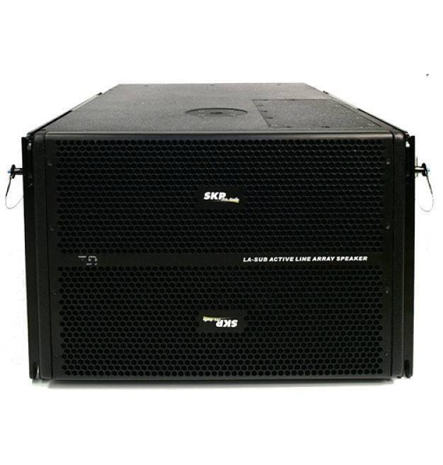 Subwoofer Amplificado SKP LA SUB 2X12