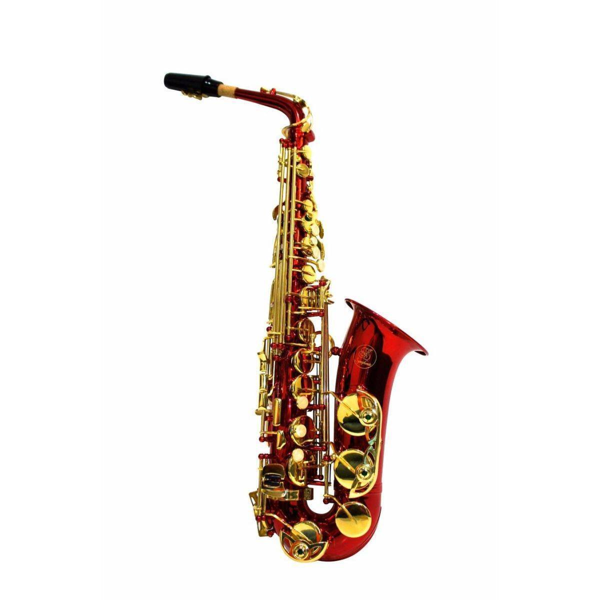 Saxofon Alto Symphonic SAL1008 Rojo