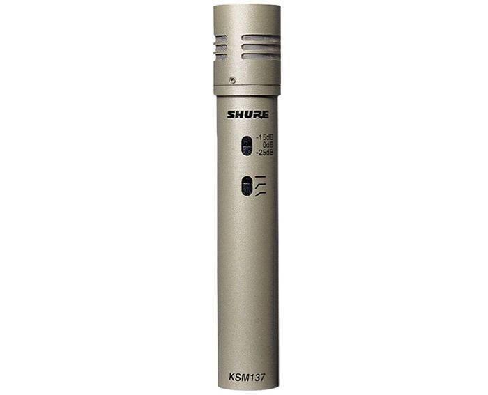 Microfono Shure KSM137/SL