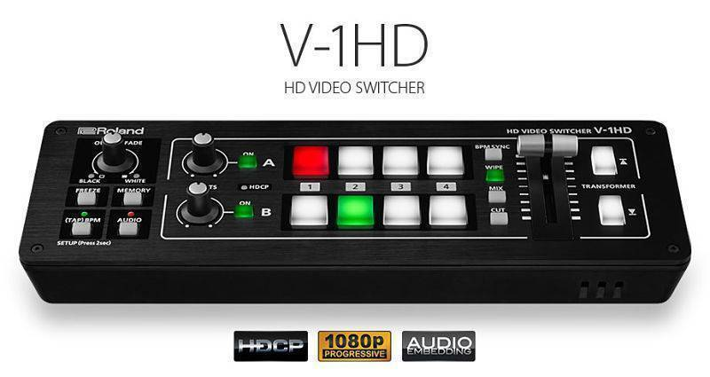 Switchera de Video Roland V-1HD