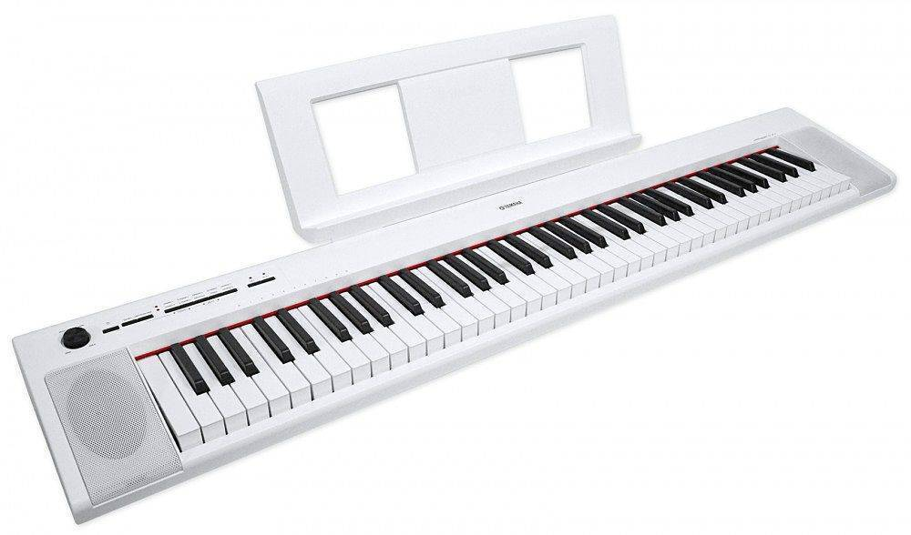 Piano Digital Yamaha NP32 Blanco