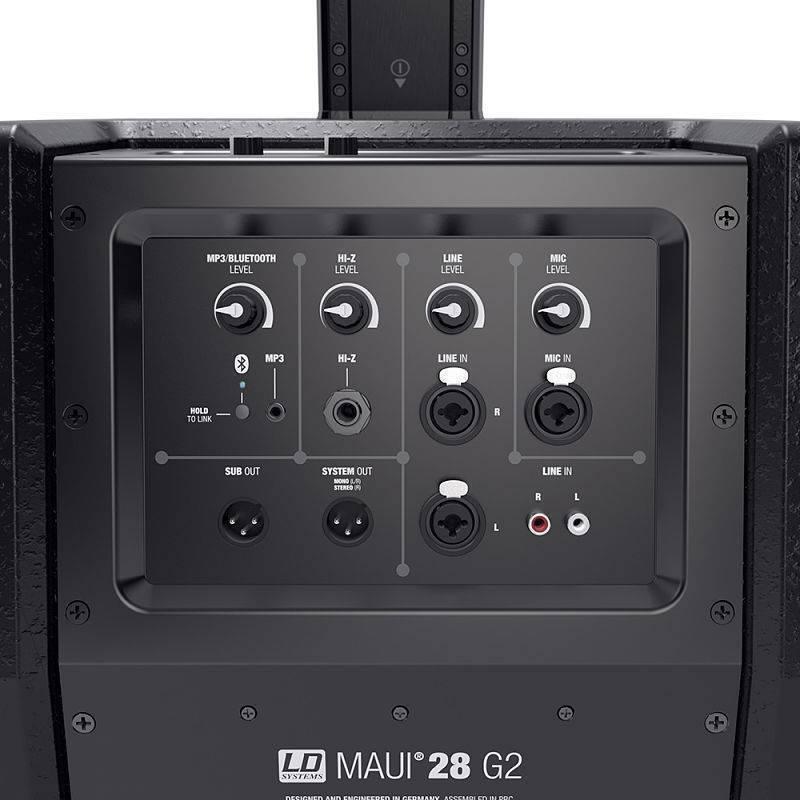 MAUI 28G2 Sistema de Audio de Columna  (hasta 200 personas de audiencia)