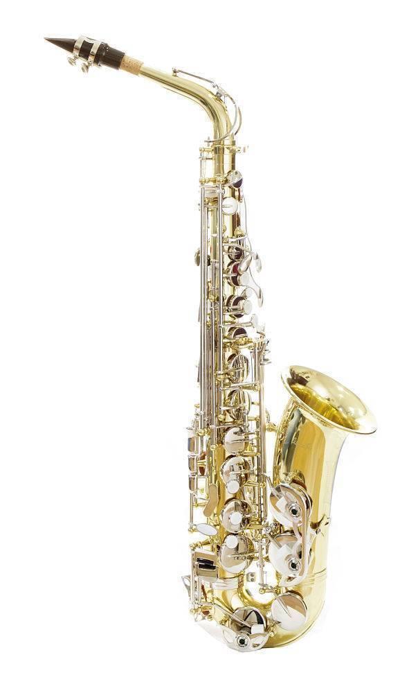 Saxofon Alto Silvertone SLSX011 Combinado