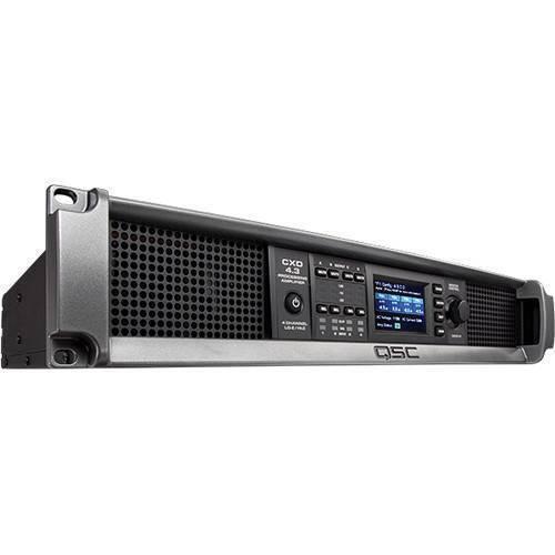 Amplificador de procesamiento qsc CXD4.3