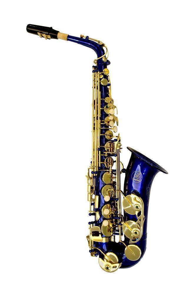 Saxofon Alto Symphonic SAL1007 Azul