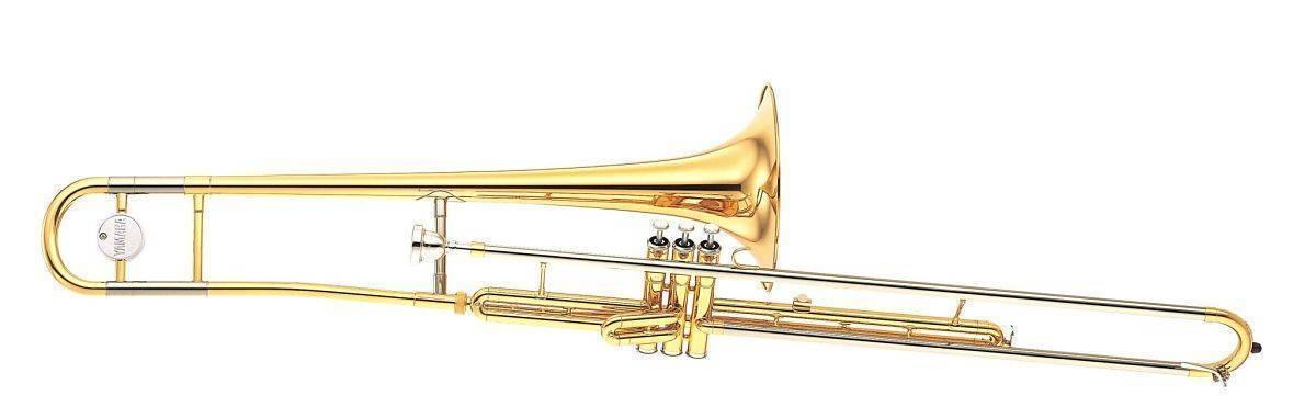 Trombon Embolos Tenor Yamaha YSL-354V Standar En Bb