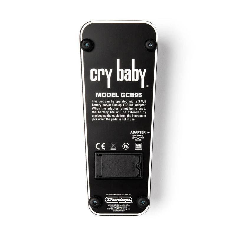 Pedal Efecto Crybaby Dunlop GCB95