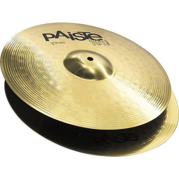 Platillos Hi Hat 14 Pulgadas Paiste 101 Brass 144014