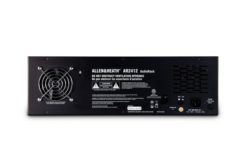 Snake Digital AR2412 para series QU y GLD de Allen and Heath