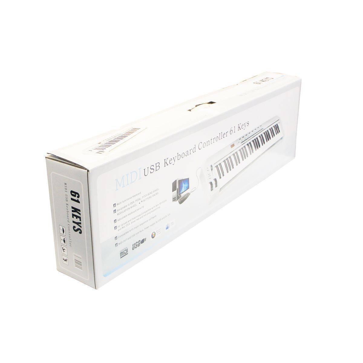 Controlador USB/MIDI Symphonic 61 Teclas AS-61
