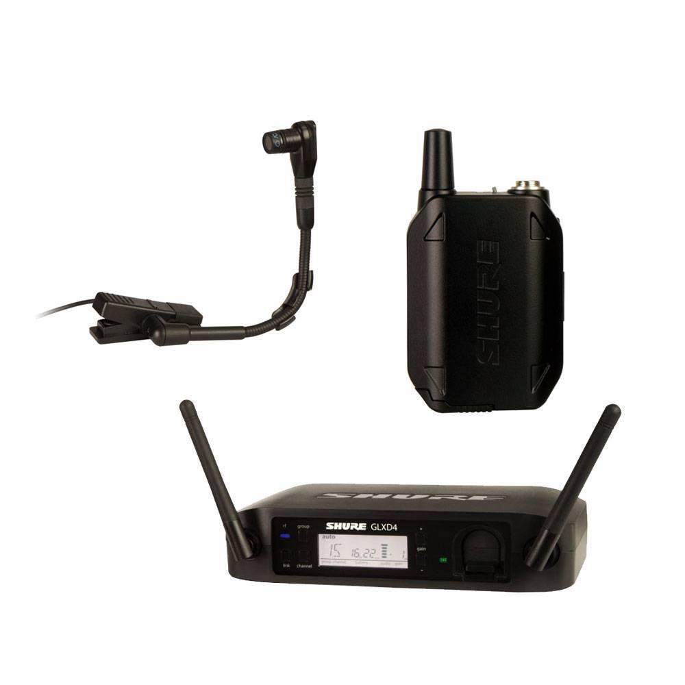 Sistema inalámbrico de instrumentos Shure  GLXD14/BETA98H
