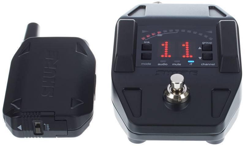 Sistema Inalambrico Con Pedal Afinador Shure GLXD16