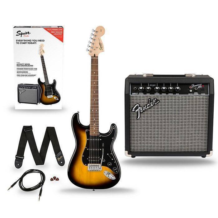 Paquete Guitarra Electrica Stratocaster HSS Affinity 0371814032