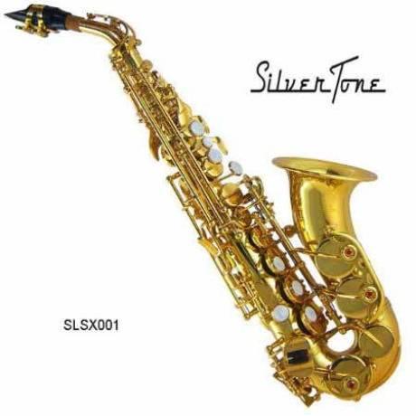 Sax Soprano Laqueado Silvertone