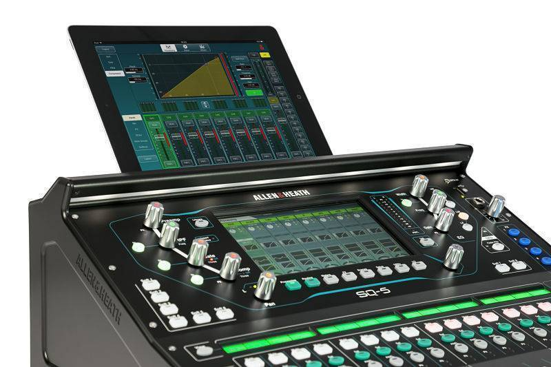 Mezcladora Digital Allen & Heath SQ-5 48 canales / 36 bus