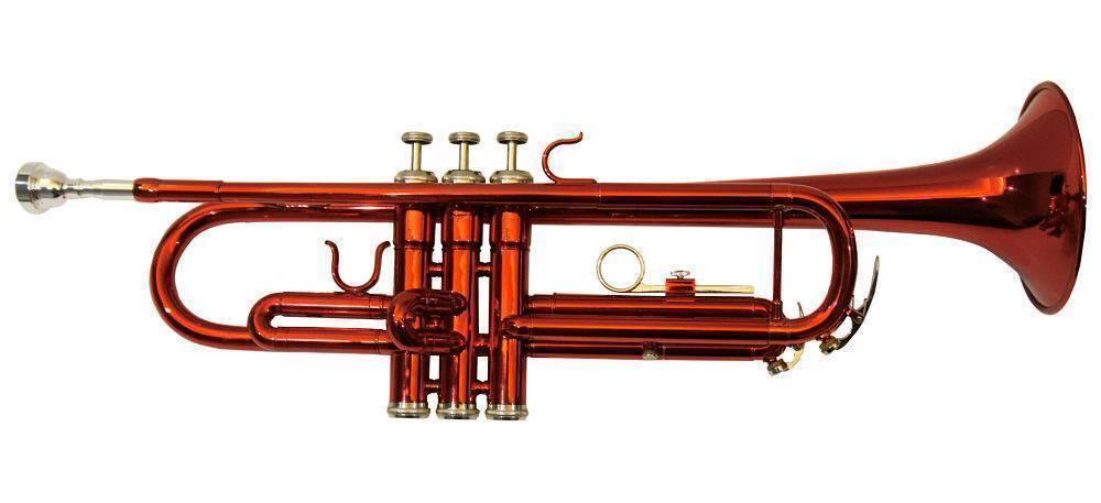 Trompeta Symphonic Roja STR007