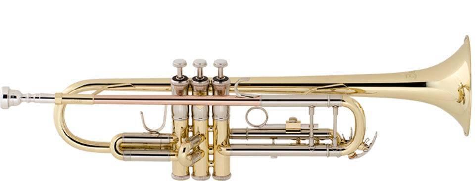 Trompeta Laqueada Bach Tr650