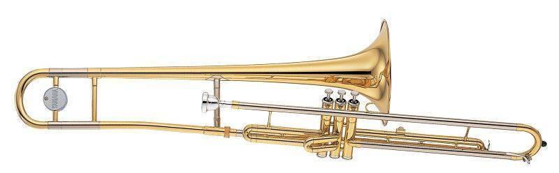 Trombon Embolos Tenor Yamaha Standar en Do