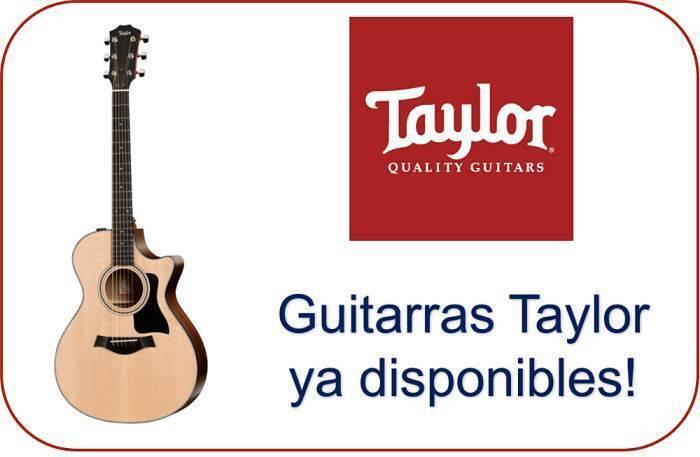 guitarras taylor