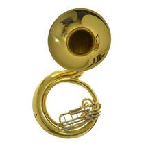Tuba Sousafon SLSS001 Laqueada Silvertone