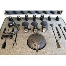 Set de Micrófono para Batería Superlux 8 piezas con estuche