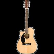 Guit. Eacustica Fender CC-60SCE zurda natural