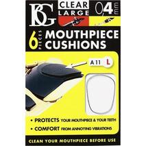 Protector dental Transparente Grande para boquilla de clarinete o sax