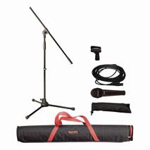 MSKA(X)Paquete de Microfono/Stand /Clip y CABLE XLR-XLR