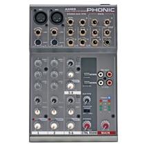 Mezcladora 4 Canales Phonic AM85