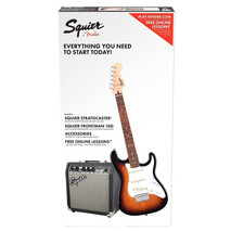Paquete Guitarra Electrica Fender Strat (Short-Scale)