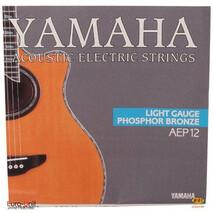 Juego de cuerdas de acero para guitarra acustica AEP-12
