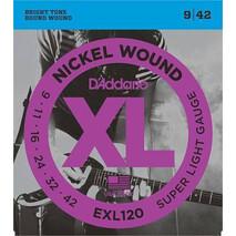 Juego de cuerdas para guitarra electrica EXL120