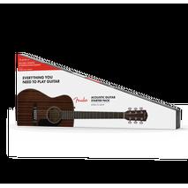 Paquete Guitarra Acustica Fender  CC-60S ALL MAHOGANY