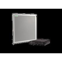 Procesador de audio conferencias P300 + Micrófono matricial de techo MXA910 de 60m