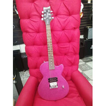 Guitarra Electrica Rock candy rosa atomic.