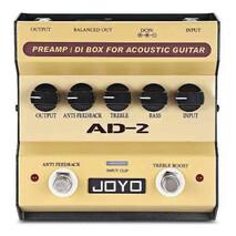 Pedal de efectos guitarra acústica y caja directa