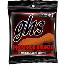 Juego de cuerdas GHS de acero para guitarra acustica S325