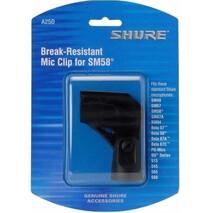 Soporte irrompible basculante para todos microfonos de mano de cuerpo std.