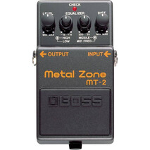 Pedal Efecto Boss Metalzone MT-2