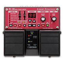 Pedalera de Loop Boss RC-30