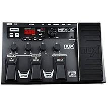 Pedalera Multiefectos P/Guit Nux MFX-10