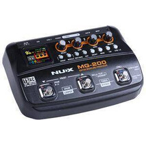 Pedalera Multiefectos Nux para Guitarra MG-200