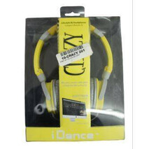 Audifonos Crazy 201 Yellow And Grey