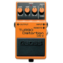 Pedal Efecto Boss Turbodistortion