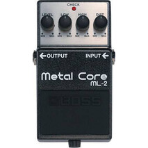 Pedal Boss De Efectos ML-2 Metal Core