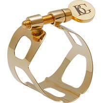 Abrazadera L10 para Boquilla Sax Alto Mod. Gold Lacquered Bg F