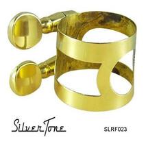 Abrazadera para boquilla de Sax Alto Laqueada Silvertone
