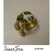 Abrazadera para boquilla de Sax Soprano Laqueada Silvertone